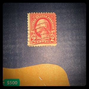 Very Rare 1 , 2 , 3 cent George Washington stamps